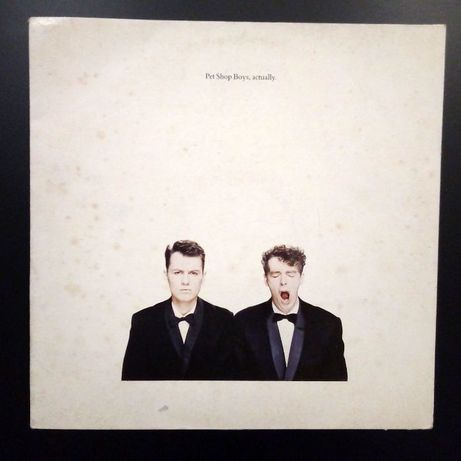 Pet Shop Boys - actually LP Winyl