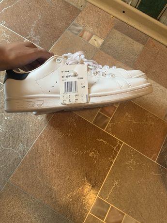 Adidas stan smith белые кроссовки кеды оригинал
