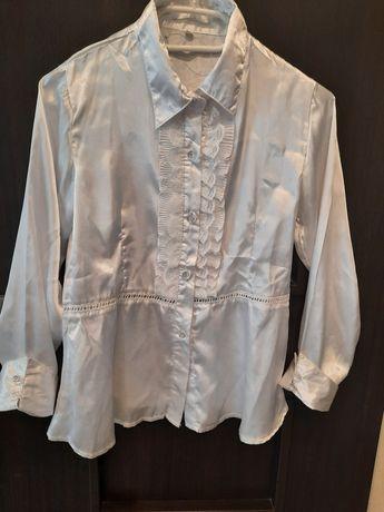 Bluzka biała wizytowa