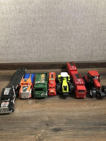 Игрушки. Спецтехника. Трактор.Машинки.Перевертыш