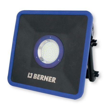 Аккумуляторный светодиодный прожектор 30W Berner 2500 люмен