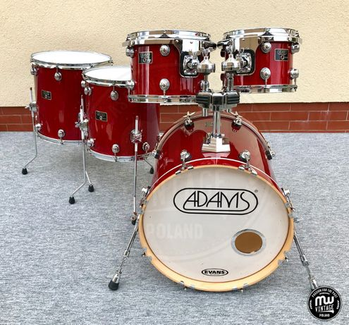 "Perkusja Adams 8000 Keller Maple - 20"", 10"", 12"", 14"", 16"""