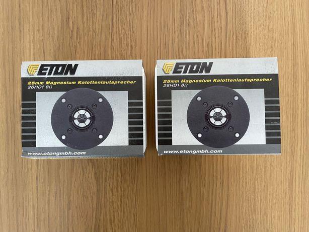 Eton 26HD1, 2 szt. nowe, głośniki wysokotonowe