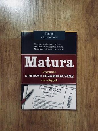 """""""Fizyka i astronomia - oryginalne matury z poprzednich lat"""