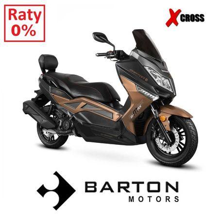 Skuter maxi BARTON B-MAX 125 LED RATY 0 % dostawa