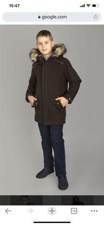 Куртки-парки для хлопчиків 134 розміру нові