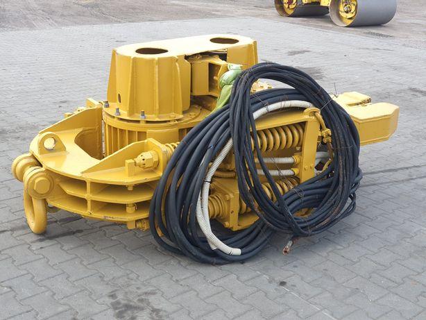 WIBROMŁOT do larsenów grodzic elektryczny waga 4 tony LIEBHERR dźwig