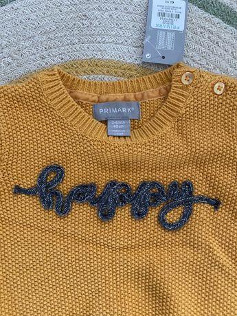 Sweter Primark Happy Nowy