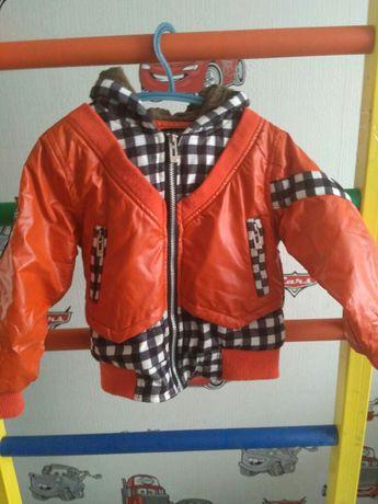 Деми куртка 2-4 года