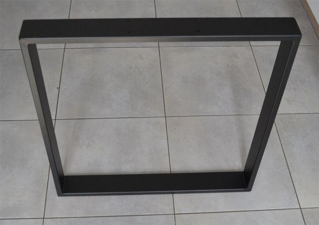 Metalowe nogi INDUSTRIAL LOFT 80x20 wymiar 80x72 cm MALOWANE PROSZKOWO