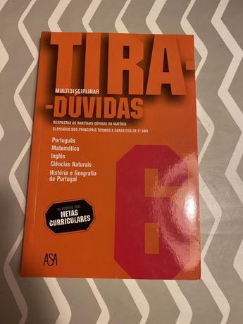 "Livro ""Tira-dúvidas 6"""