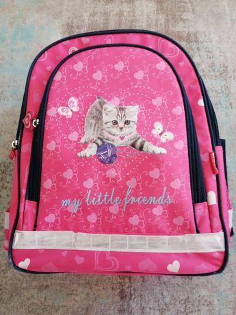 Plecak szkolny dla dziewczynki.