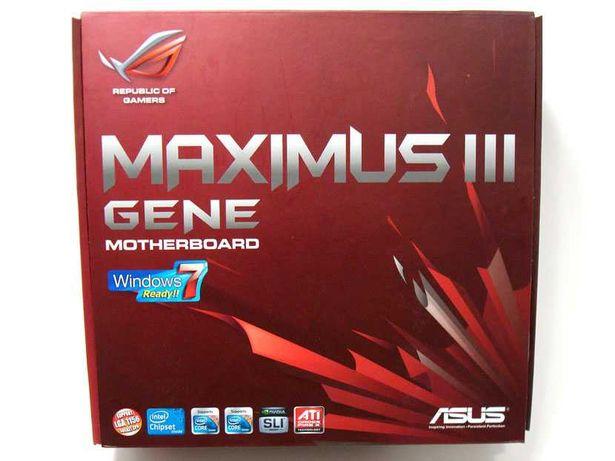 Motherboard Asus ROG Maximus III Gene mATX - P55 - LGA 1156