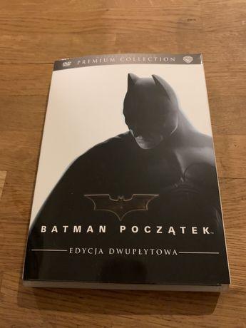Batman początek dvd kolekcjonerskie