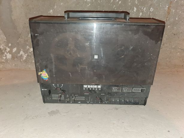 Unitra magnetofon Szpulowy M 2405 S szpula deck Antyk Dama pik
