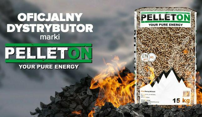 PELLETON Dostawa GRATIS Pellet drzewny 6mm ENplus-A1 Lava Olczyk pelet