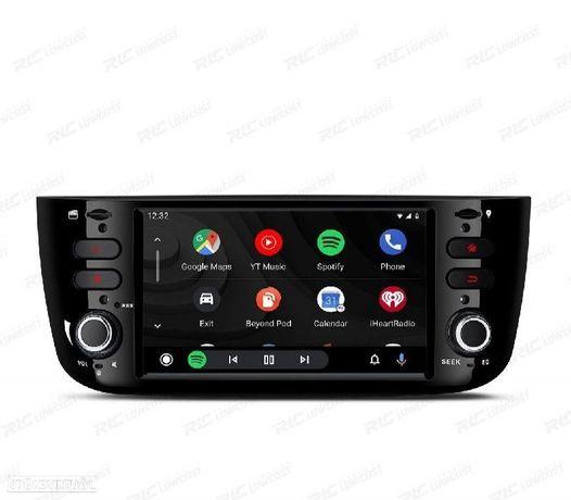 AUTO RADIO GPS ANDROID 10 FIAT PUNTO LINEA