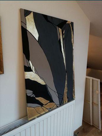 Obraz Abstrakcja akryl 100x70