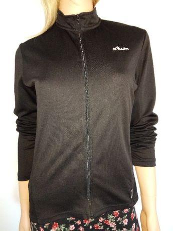 Bluza sportowa rozpinana bTwin czarna r S