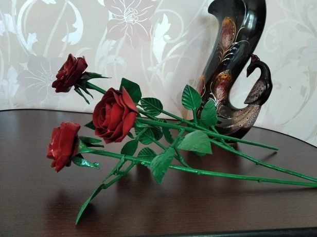 Кованая Роза Ручной роботы