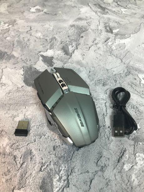 Мышка бесшумная беспроводная с подсветкой Bluetooth Zornwee Ch002