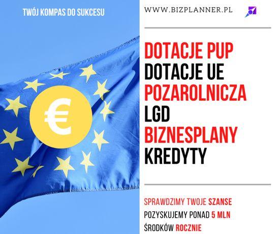 Dotacja z Urzędu Pracy, Dotacja UE, Biznesplany, Dofinansowanie PUP