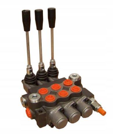 Rozdzielacz hydrauliczny ładowacz Tura 3 trzy-sekcyjny 40L - cyklop
