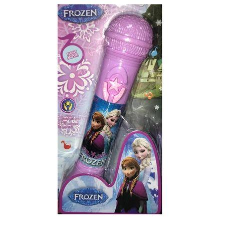 Różowy Mikrofon Frozen Kraina Lodu Zabawka