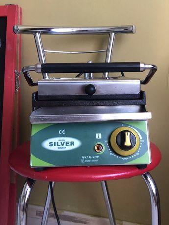 Контактный гриль Silver прижимной для хот догов