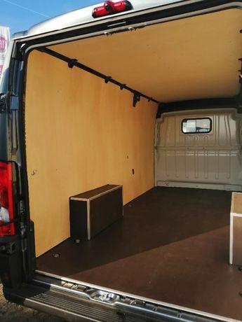 Citroen Jumper L2H2 Standardowa zabudowa przestrzeni ładunkowej auta