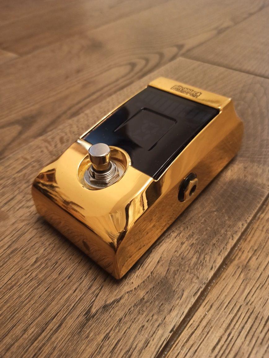 Тюнер-педаль Korg PitchBlack PB-01-GD Golden