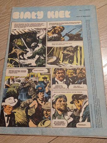 Stary komiks biały kieł itd