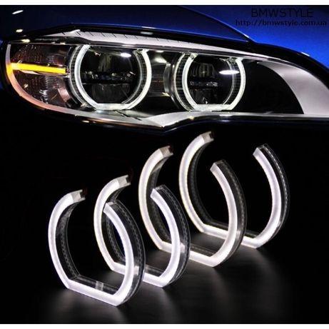 Ангельские глаза BMW CRYSTAL LED в стиле DTM
