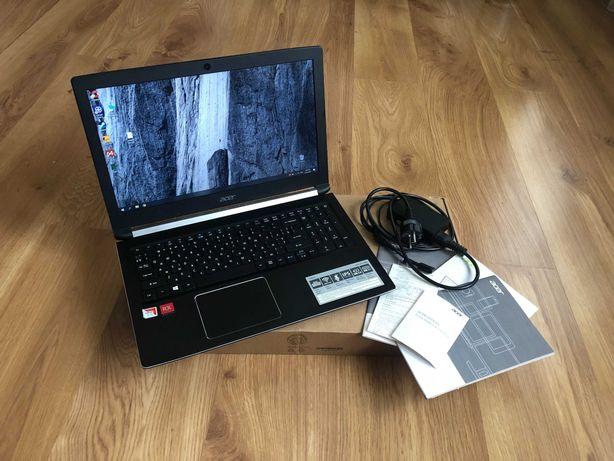 Игровой ноутбук ACER - AMD 4 ядра 3.6 GHz, RX 540, 8gb RAM, идеал