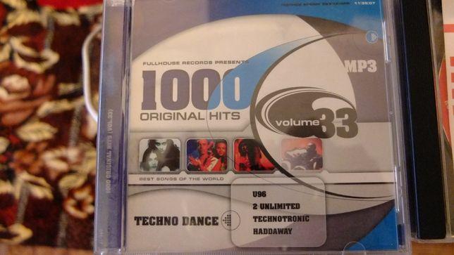 сборник из 1000 хитов в стиле Техно( mp3 )