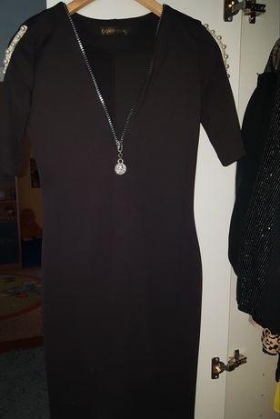 Продам платье Domenica с жемчугом на рукавах