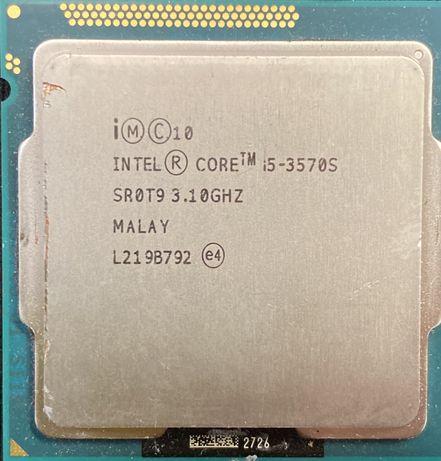 Процессор Intel Core i5 3570s 4 ядра 4 потоки по 3.1(3.8)GHz s1155 бу