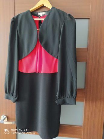 Nowa Sukienka plus żakiet M