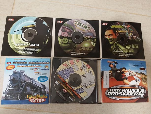 Gry pc dvd gorky zero s.w.i.n.e airline tycoon tony Hawks 4
