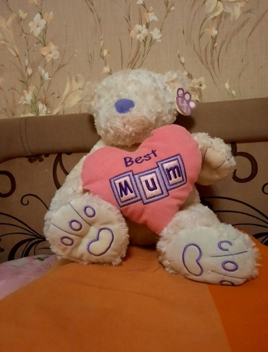 белый кудрявый медведь Одесса - изображение 1