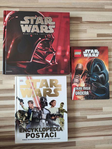 Książki Star Wars encyklopedia klasyczna trylogia tajne misje Vadera