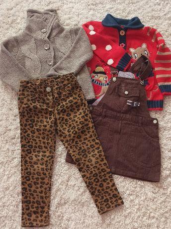 Пакет фирменной одежды для девочки 2-4 года