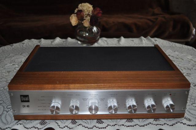 DUAL CV 40 PIĘKNY wzmacniacz stereo VINTAGE