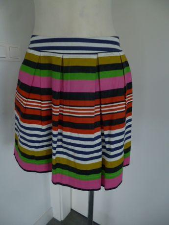 Krótka spódnica z kieszeniami na lato rozm.- 40 - M/L pas - 78