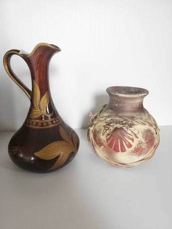 Jarras de porcelana, antigas e decoradas