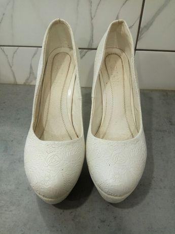 Продам шкіряні весільні туфлі
