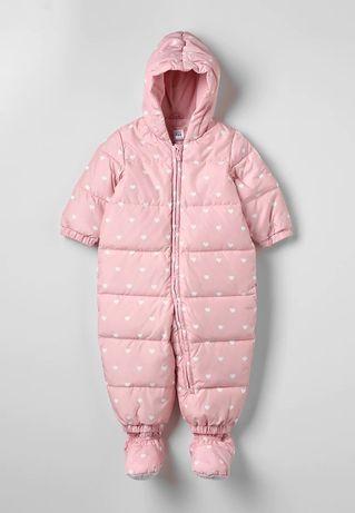 Детский зимний комбинезон Gap Розовый