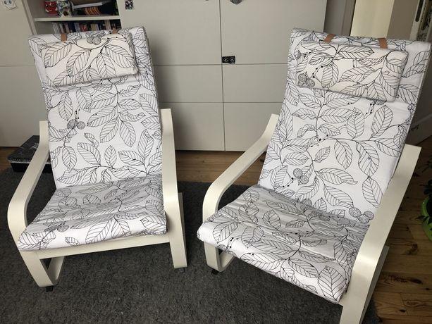 dwa fotele ikea