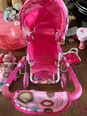 Wózek dla lalek 3-cz, jak Nowy