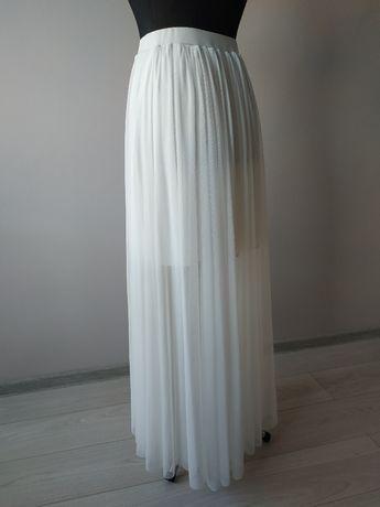 Spódnica tiulowa na gumce, rozmiar 40 - 48 - ślub, wesele, poprawiny